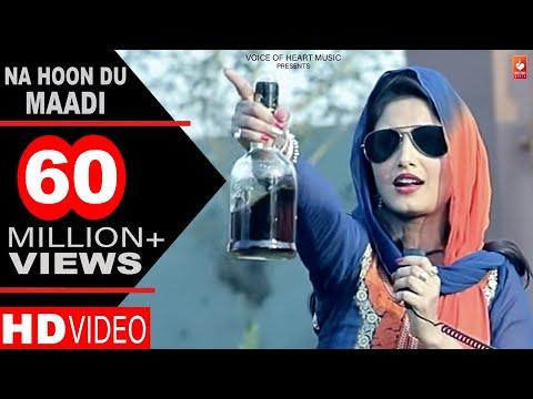 Haryanvi Songs | Na Hoon Du Maadi | Latest Haryanvi DJ Songs 2017 | DP Sharma | Shivani Raghav