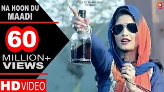 Haryanvi Songs | Na Hoon Du Maadi | Latest Haryanvi DJ Songs 2017 | DP Sharma | Shivani Raghav