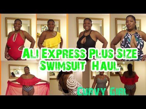 aliexpress-plus-size-swimwear-swimsuit-haul-#curvygirl-2019-summer