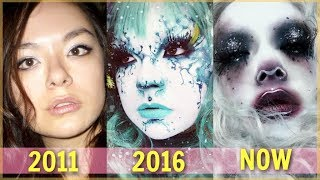 HOW I LEARNED TO DO MAKEUP! (a 6 year makeup compilation video)