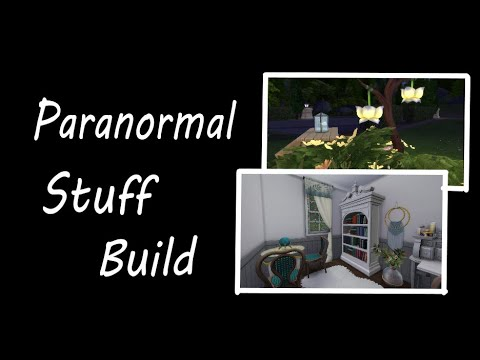 Paranormal Stuff Pack Inspired Build (FIRST LOOK AT THE PACK!!) |