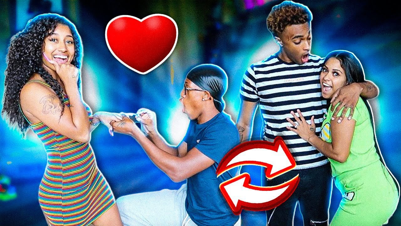 Switching GIRLFRIENDS For 24 Hours!! **Went too far**