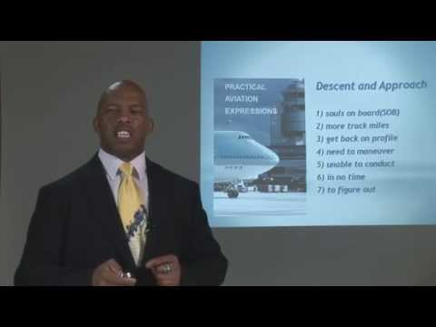 Practical Aviation Expressions  Chapter 1 Lesson 1 Part 6a  Iman Jones  1