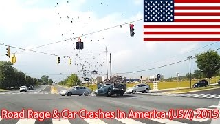 Road Rage and Car Crashes in America (USA) 2015 HD [Part 15]