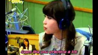 [Eng-Sub]110309 Wooyoung Call IU@Cool FM