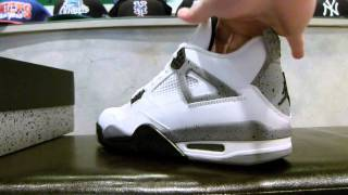 "Air Jordan IV Retro ""White Cement"" Review at Exit 36"