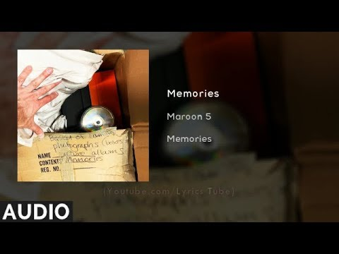 Maroon 5 - Memories (Audio)
