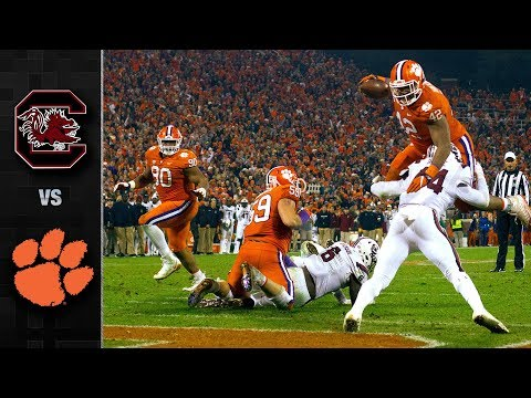 South Carolina vs. Clemson Football Highlights (2018)