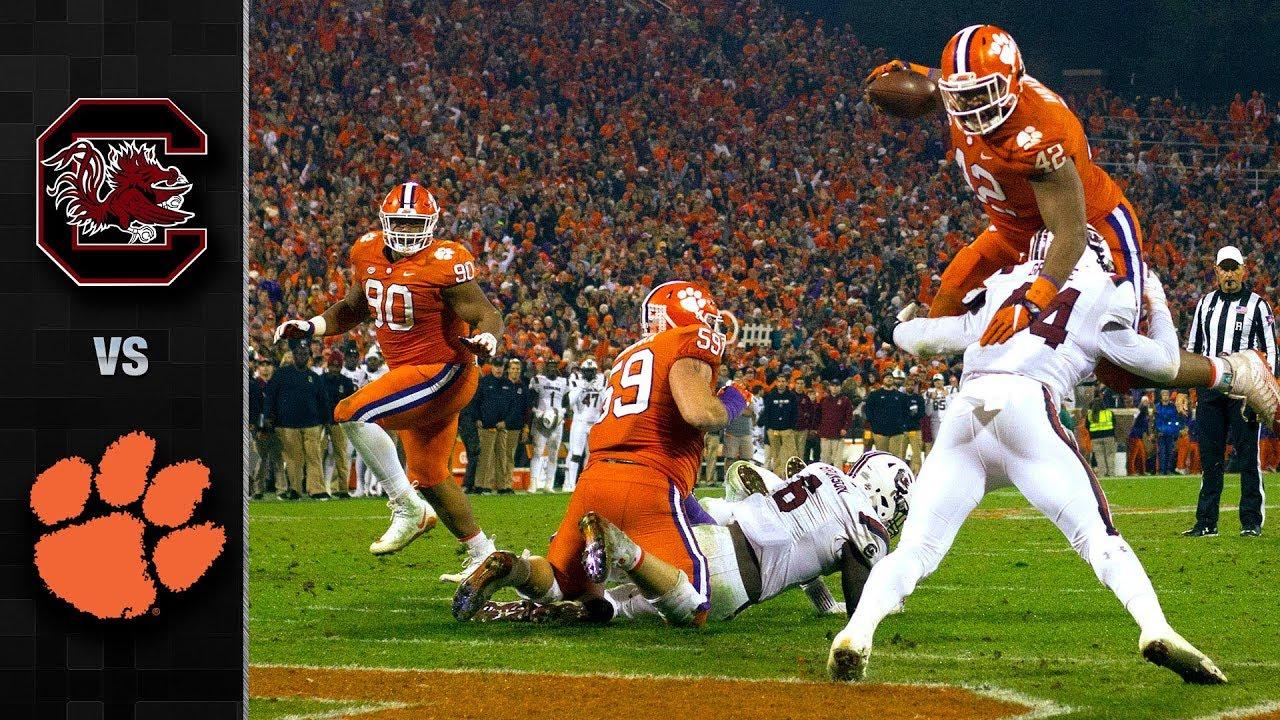 South Carolina vs. Clemson Football Highlights (2018 ...