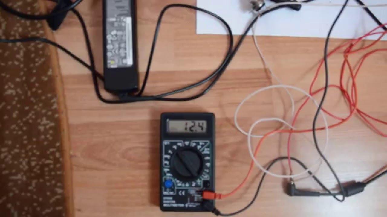 Как зарядить автомобильный аккумулятор зарядкой от ноутбука