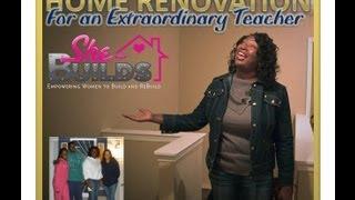 A Community Renovation For A Teacher - Nicole Jordan