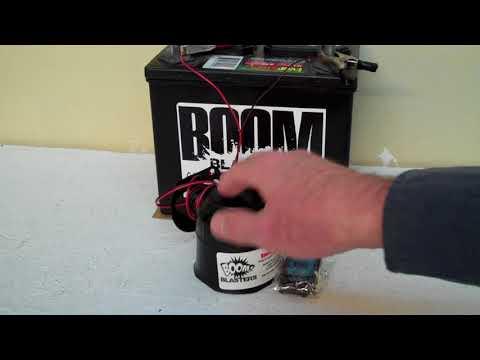 Bobcat Snarling Growl Sounds Car Horn Wireless