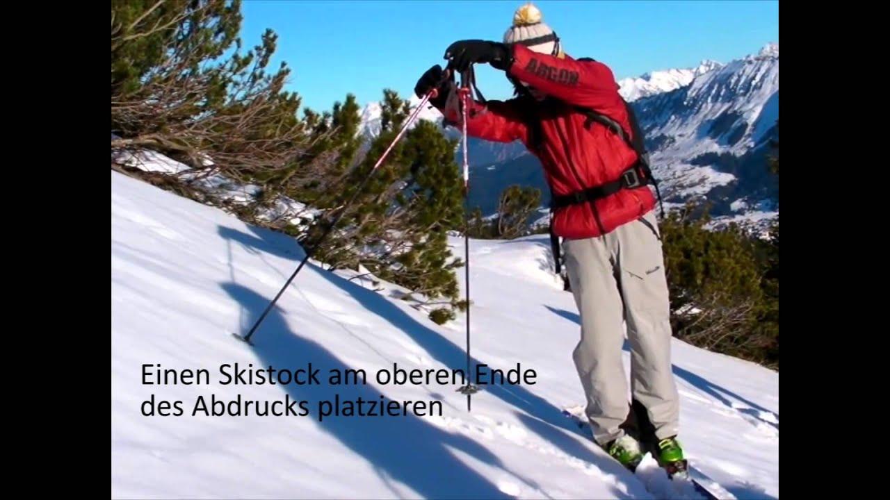 skitour hangneigung berechnen youtube