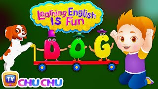 Learning English Is Fun Official Trailer | ChuChu TV Phonics & Words Learning For Preschool Children