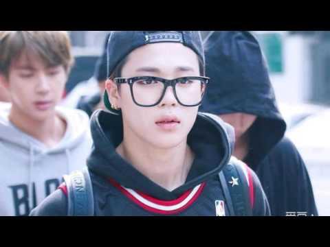 Bts 방탄소년단 Park Jimin Wearing Glasses Youtube