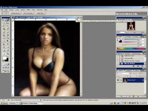 Photoshop Tutorial – Glamour Shot Effect