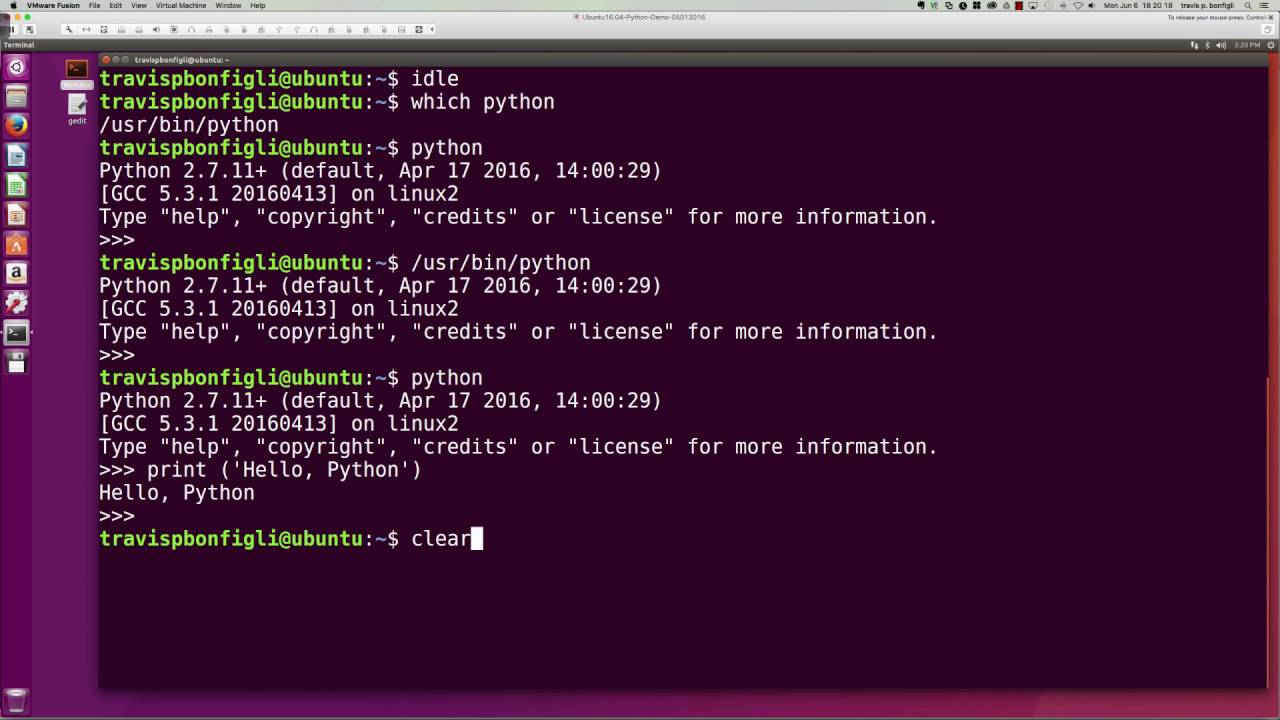 introduction to python programming   2  how to execute