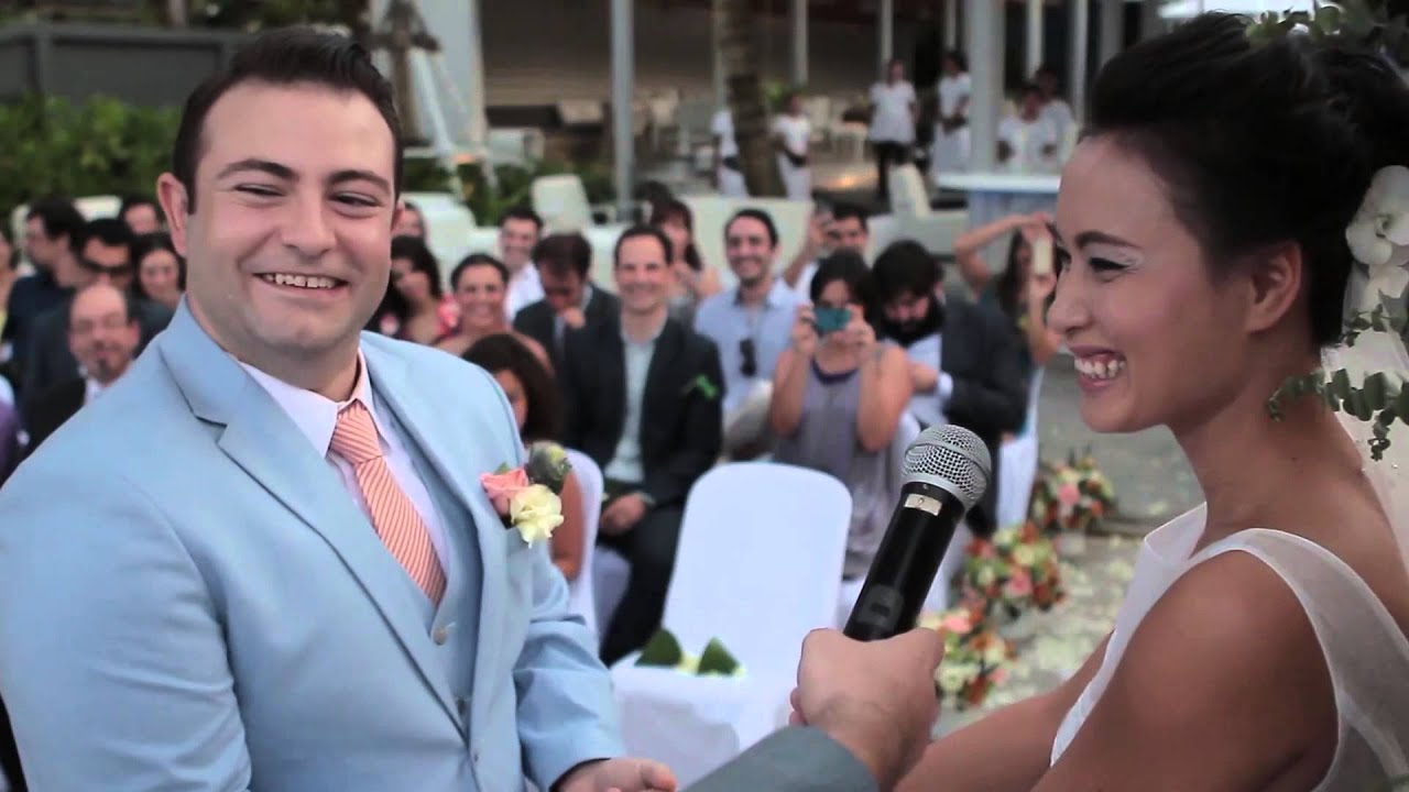 Phuket Wedding Celebrant: Tiago*Reddy @ Bang Tao Beach (6 min.)