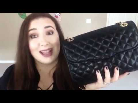 Rebecca Minkoff Quilted Affair Review Whats In My Bag Youtube