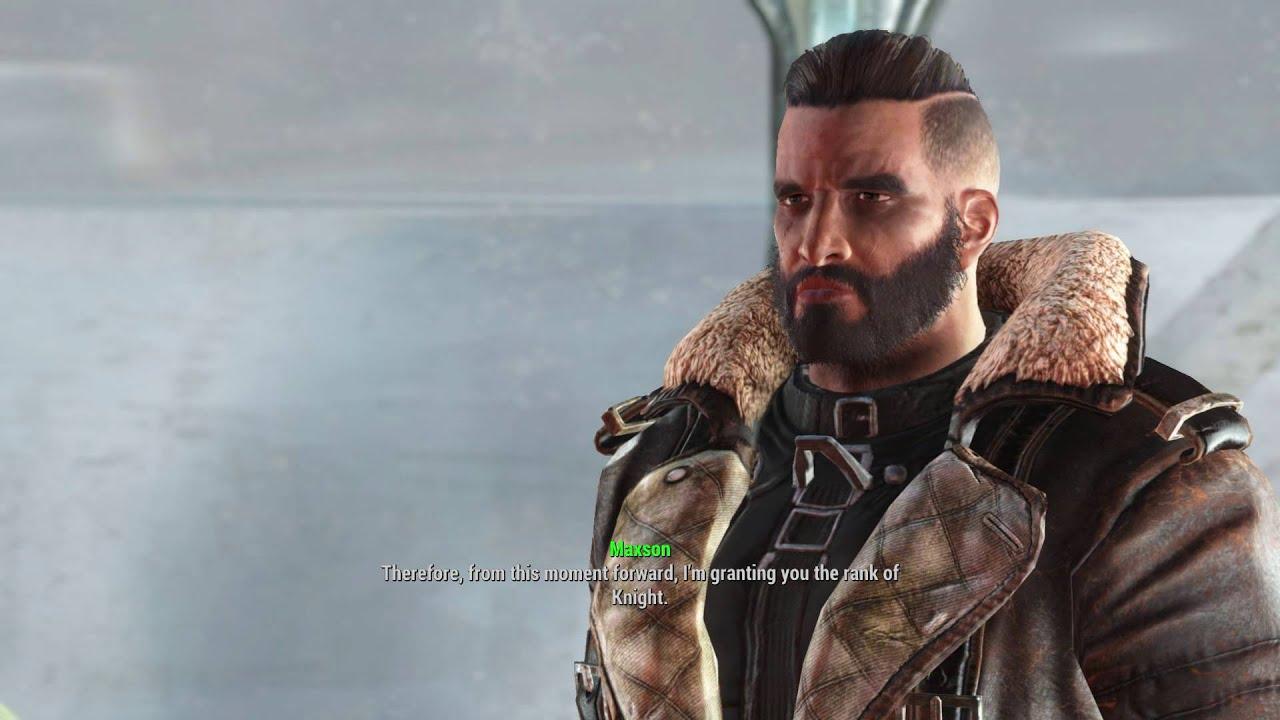 Fallout 4 Shadow Of Steel Elder Arthur Maxson