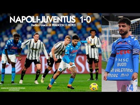 NAPOLI-JUVENTUS 1-0 - Radiocronaca di Francesco Repice (13/2/2021) da Rai Radio 1