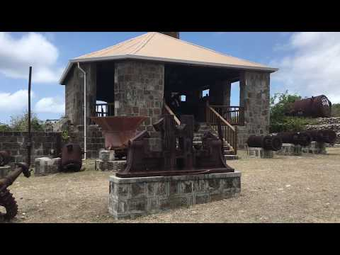 Exploring the Sugar Mill Outdoor Museum on Nevis Island