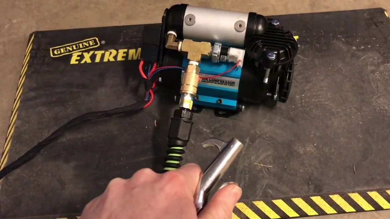 hight resolution of arb air compressor portable setup