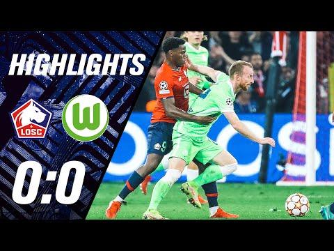 Lille Wolfsburg Goals And Highlights