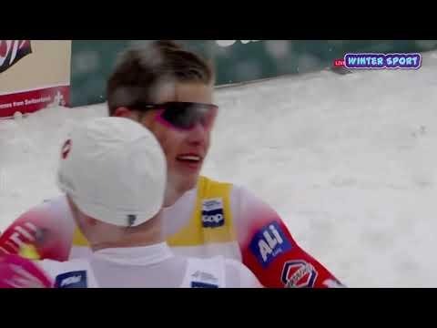 Лыжные Гонки  СПРИНТ   ФИНАЛ конек Мужчины  Кубок Мира Квебек Канада