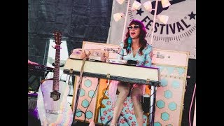 "Jenny Lewis live at Mountain Jam playing new song ""Party Clown"""