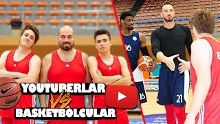 NBA BASKETBOLCULARI İLE KAPIŞTIK !!