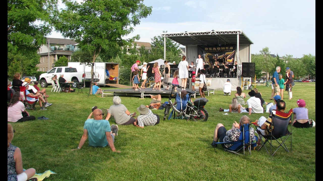 The Wintergarten Orchestra at 2019 Beaches Jazz Festival