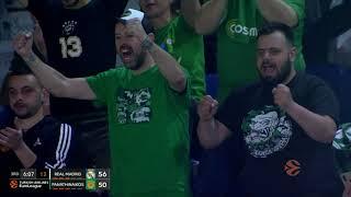 Real Madrid - Panathinaikos BC OPAP Athens 96-78   Highlights   Round 26