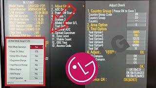 LG TV codes : Enter Hotel mode , Installation Menu through Service menu