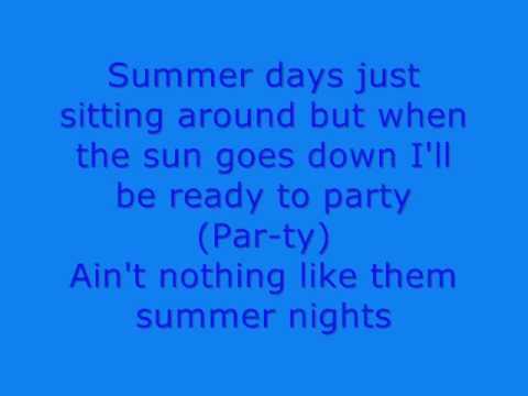 Song lyrics summer nights