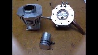 Construction moteur 14 cylindres étoile Partie 7 Pistons