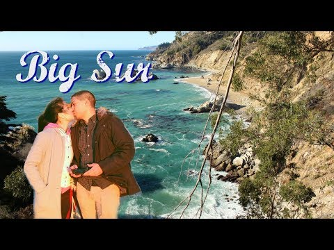 Big Sur Travel Vlog - Fly DJI Spark Drone the First Time