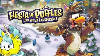¡Trucos Fiesta de Puffles 2015 y el SASQUATCH! - Club Penguin