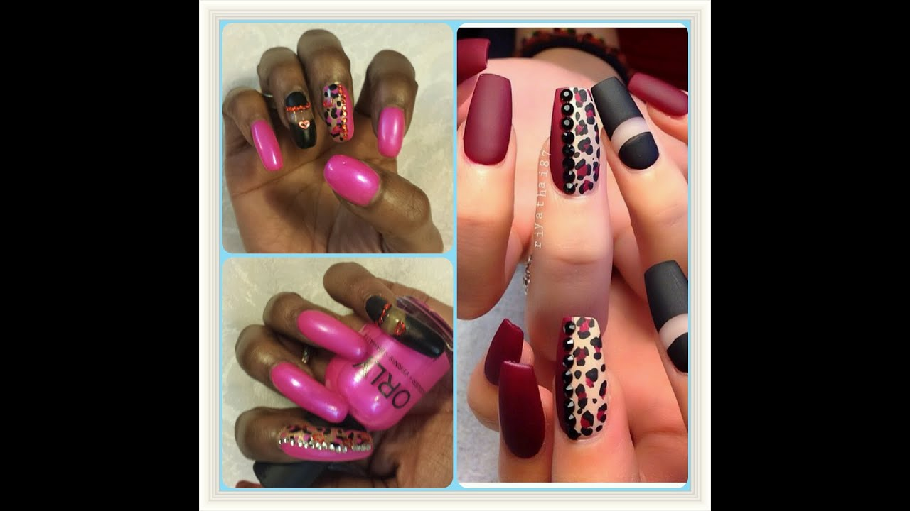My nail design gallery nail art and nail design ideas whats on my nails for 2 days my 1st valentines nail design whats on my nails prinsesfo Choice Image