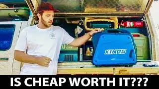 Kings Generator 2KVA in field review and test