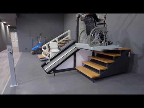 Plate-forme Monte-escaliers VIMEC V64 V65