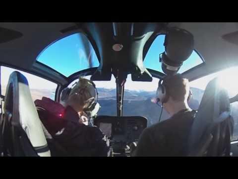 360 video above Abisko National Park