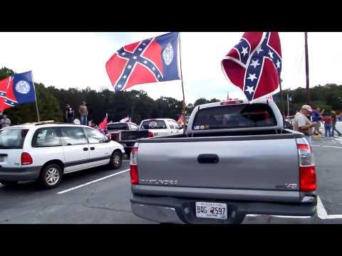 Pro-Confederate Flag Rally - Stone Mountain Park