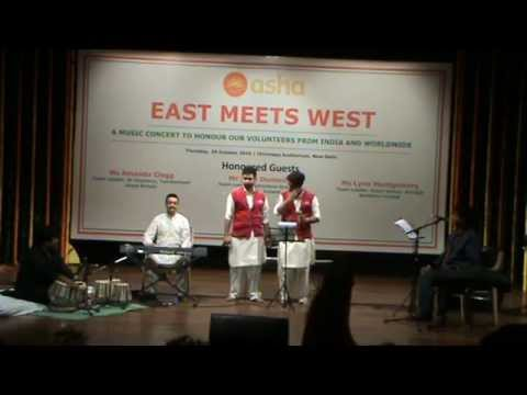 East Meets West 2015 - Qawali by students from Ekta vihar slum colony