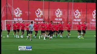Сборная Польши провела открытую тренировку в Сочи