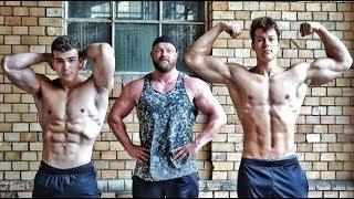 Teenager mutieren in Rekordzeit zum Bodybuilder!