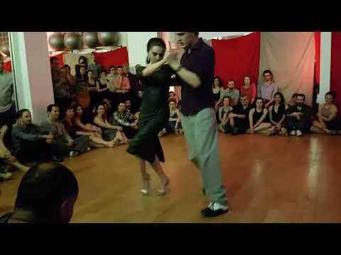 Andjela Djiki Ristic & Luka Škopelja ❤ @ La dolce vita _  Weekend Tango Paris édition Belgrade