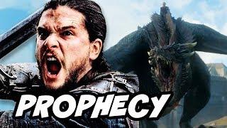 Game Of Thrones Season 7 Daenerys Jon Snow Prophecy Explained
