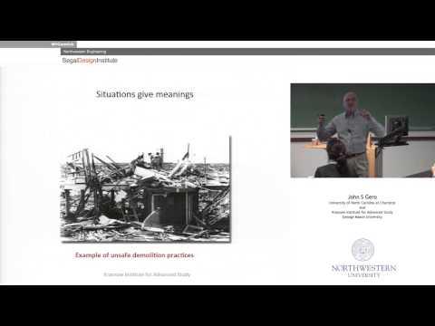Segal Seminar Series: John Gero on Studying Design Using Computational Social Science