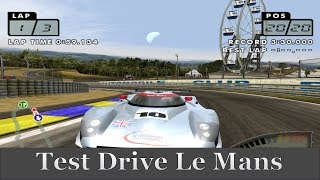 Test Drive Le Mans 【Redream 1.31】Dreamcast Gameplay Sample 【HD】